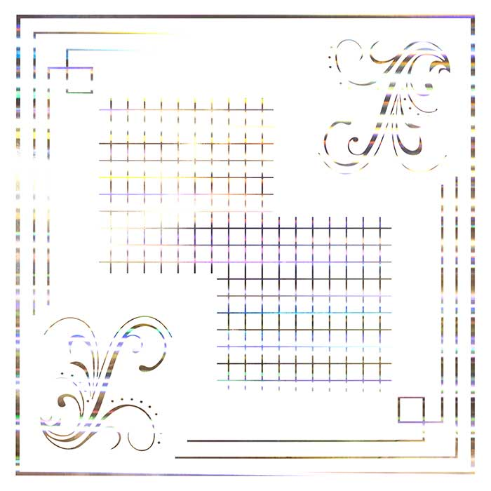 Hot stamp tile PVC code TH-125