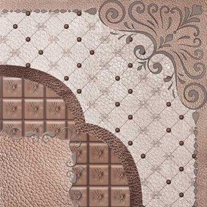 Hot stamp tile PVC code TH-129